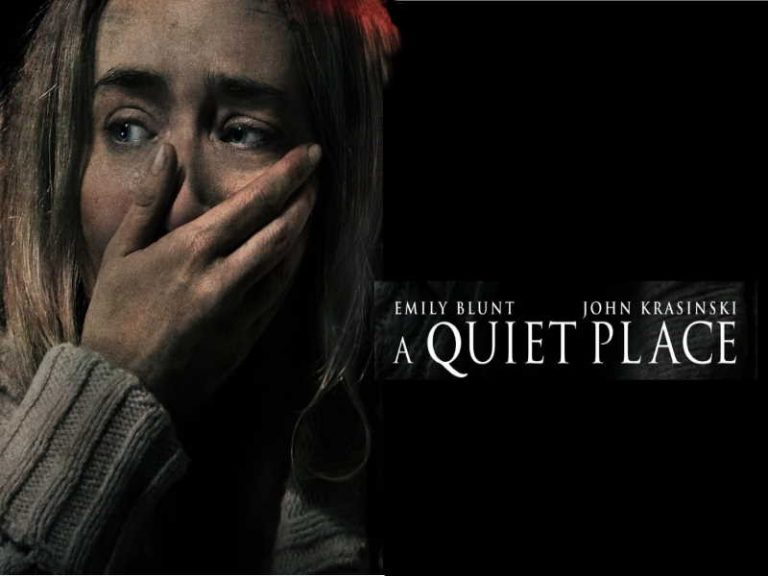 A Quiet Place- creepy sounds of silence