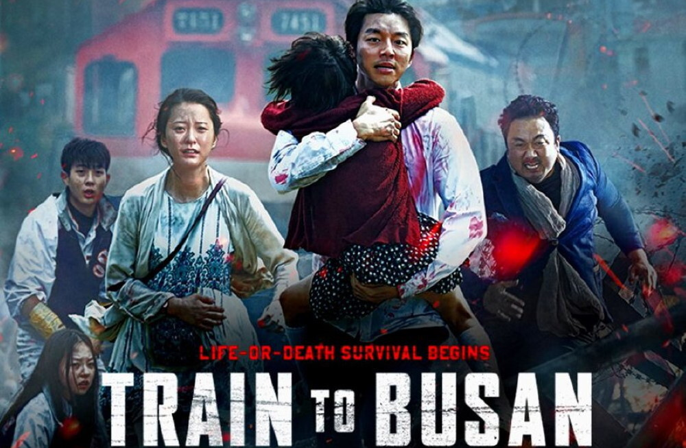 Train to Busan – action & fun zombie movie!